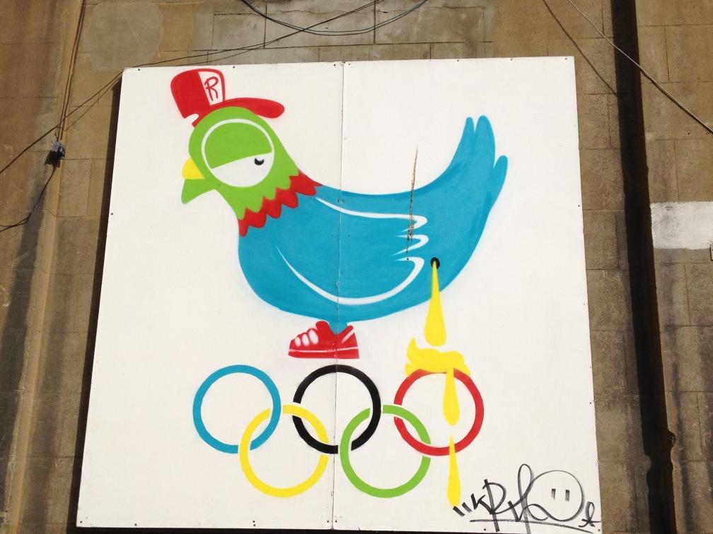 Olympic leak